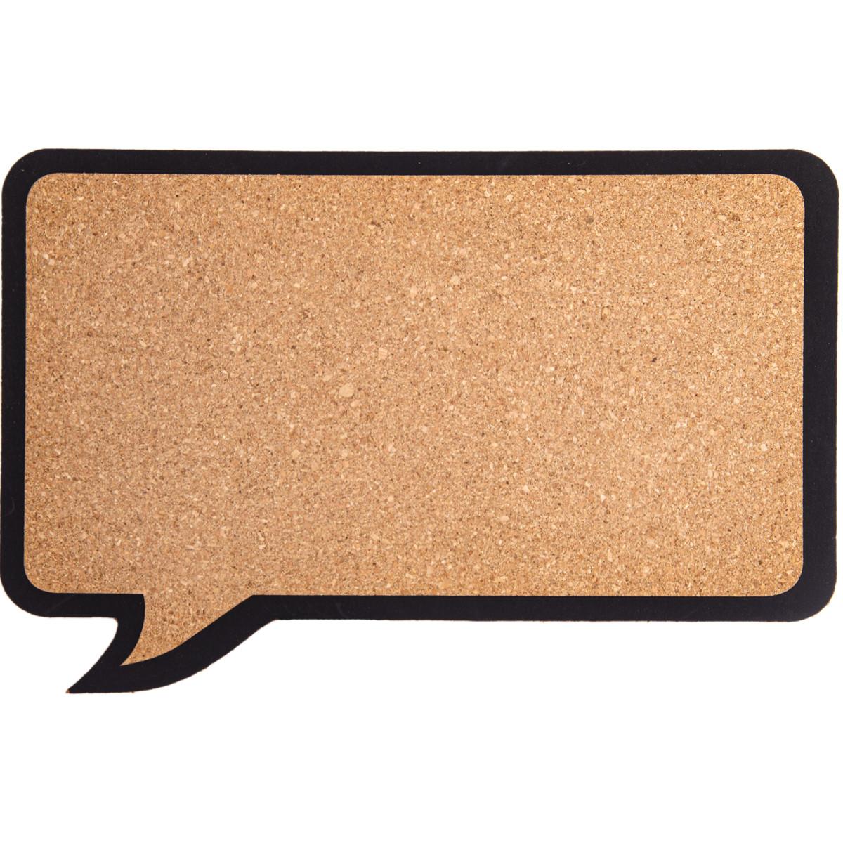 Доска пробковая «Сообщение» 6 кнопок 44х29 см