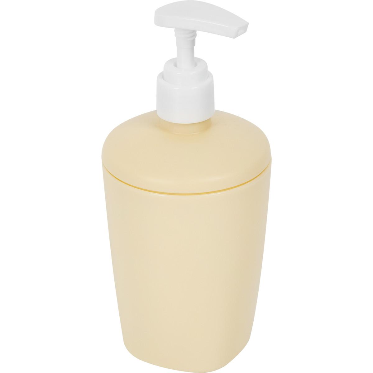 Диспенсер для жидкого мыла Aqua цвет желтый