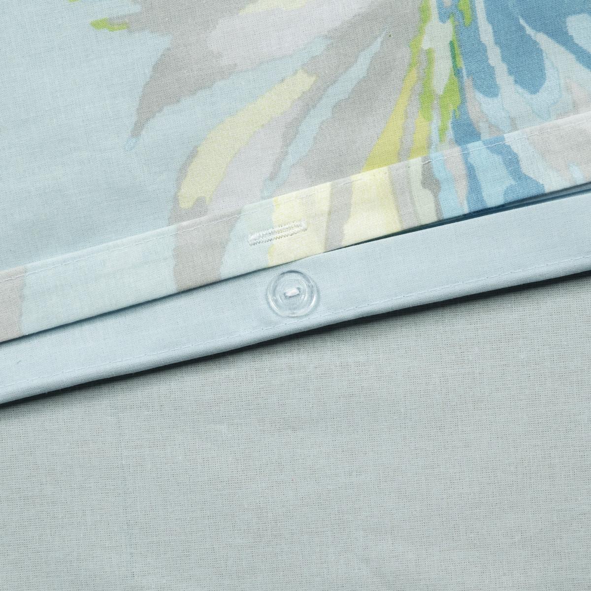Комплект Постельного Белья Органик Полутораспальный Поплин Цвет Зелёный