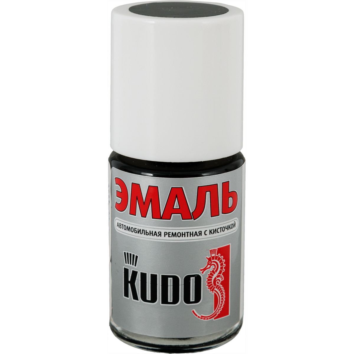 Эмаль автомобильная Kudo с кисточкой цвет Toyota 202 чёрный 15 мл