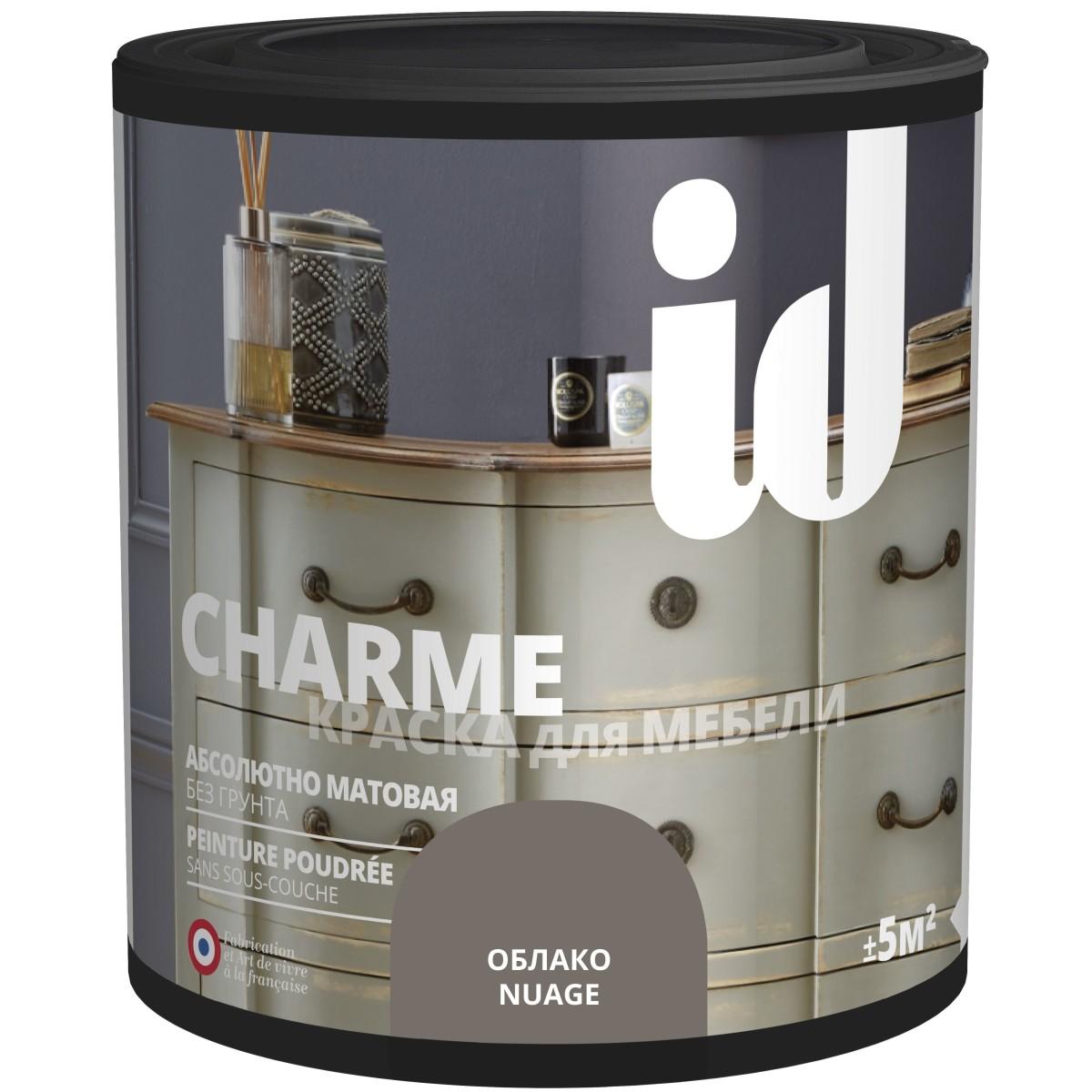 Краска для мебели ID Charme цвет облако 0.5 л