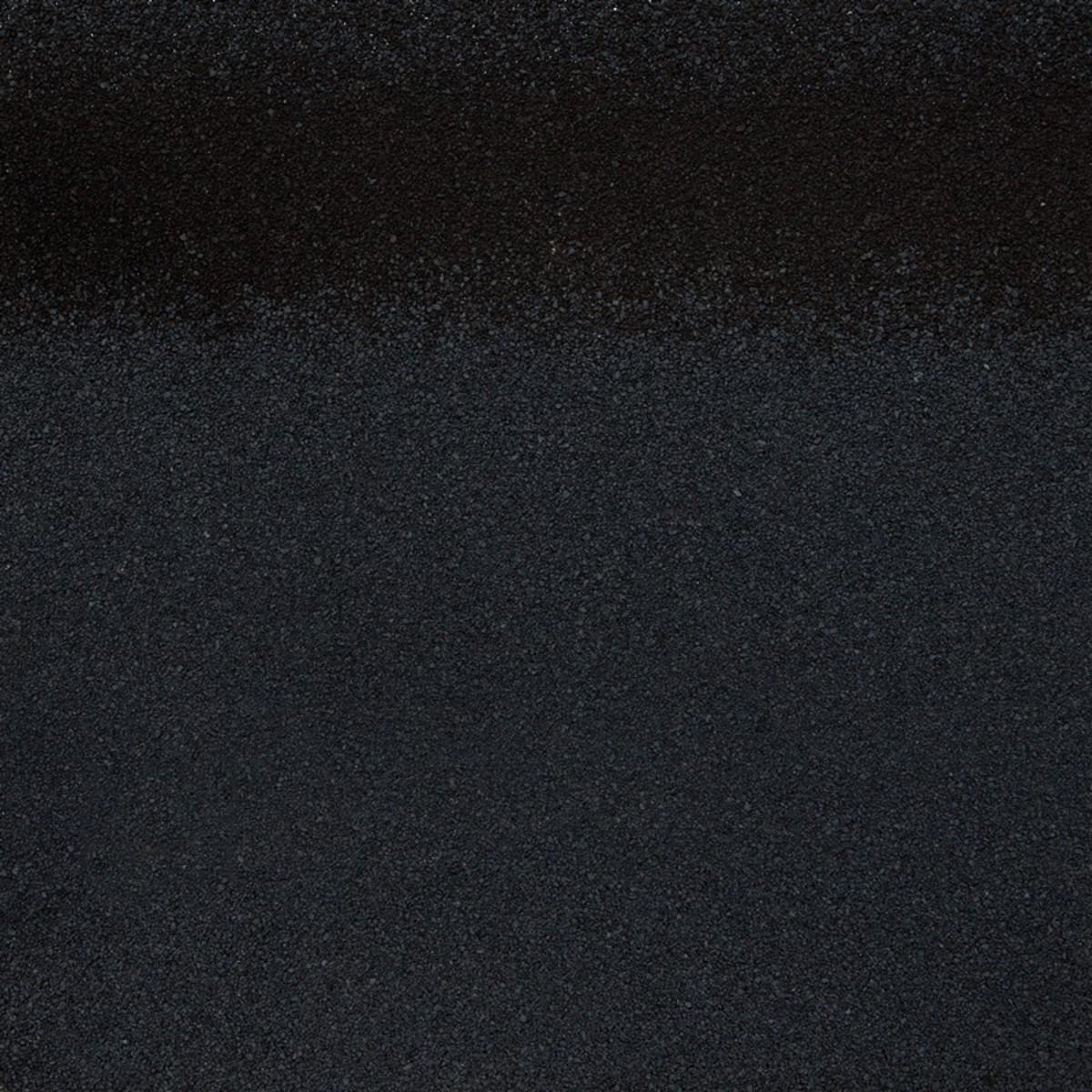 Черепица коньково-карнизная Roofshield цвет черный