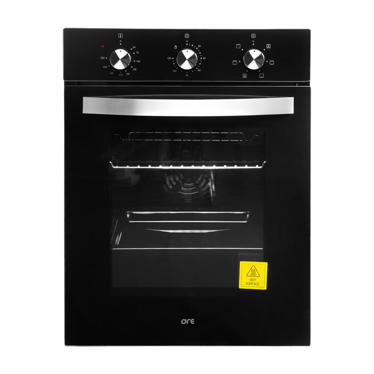 Духовой шкаф электрический ORE VS45B 59.5x44.8x54.5 см цвет чёрный