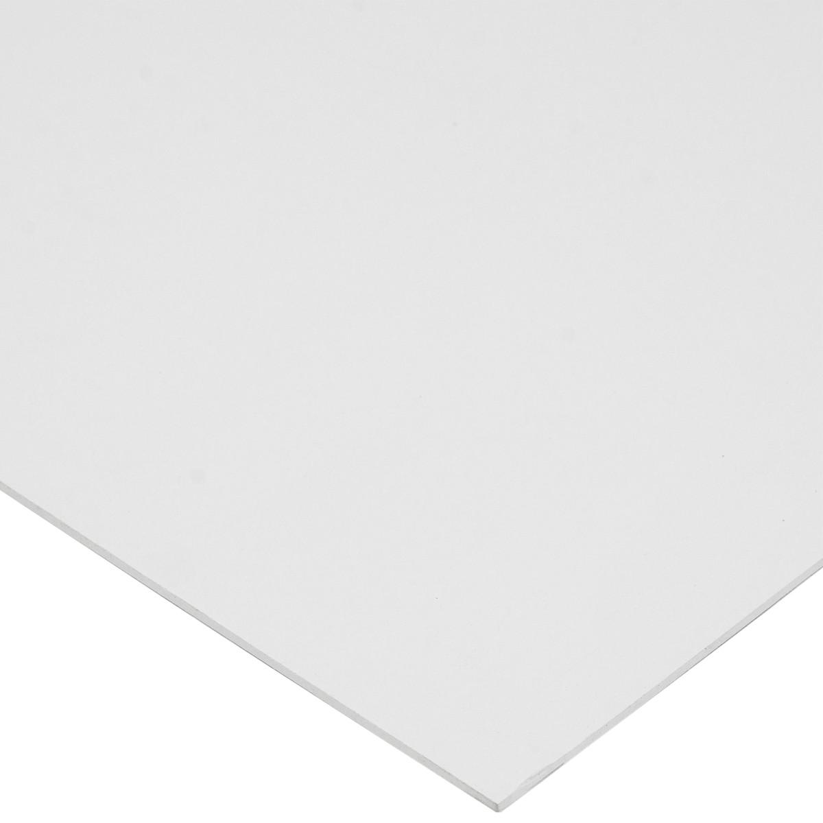 Вспененный ПВХ 3 мм 1000x500 мм белый 0.5 м²