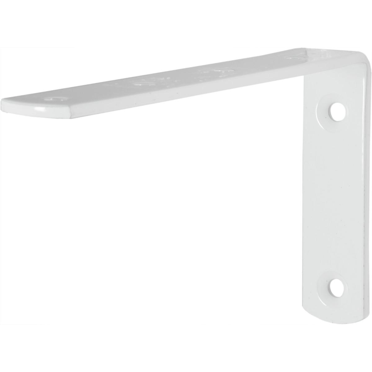 Кронштейн Angle 75x125 мм цвет белый