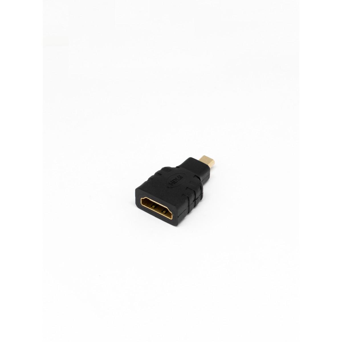 Переходник HDMI-microHDMI Oxion гнездо-штекер