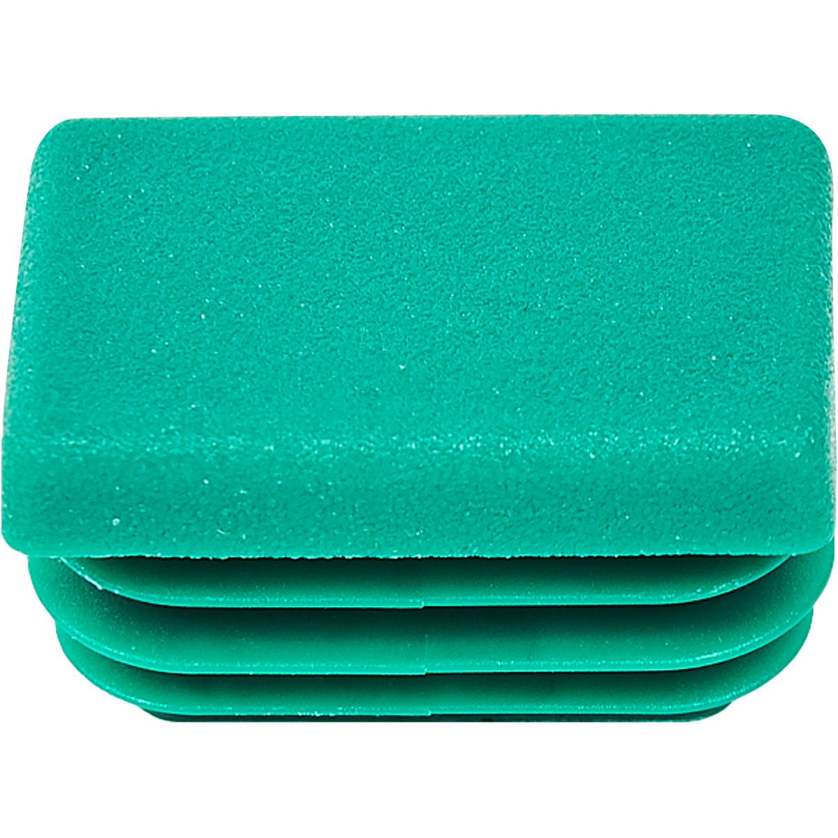 Заглушка профиля Walraven 27x18 мм цвет зеленый