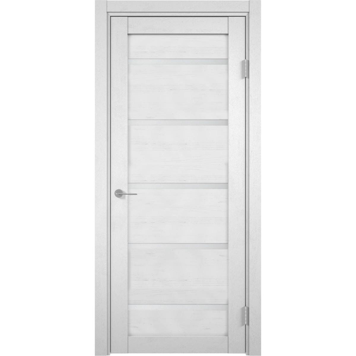 Дверь межкомнатная остекленная Бавария 70x200 см сосна андерсен