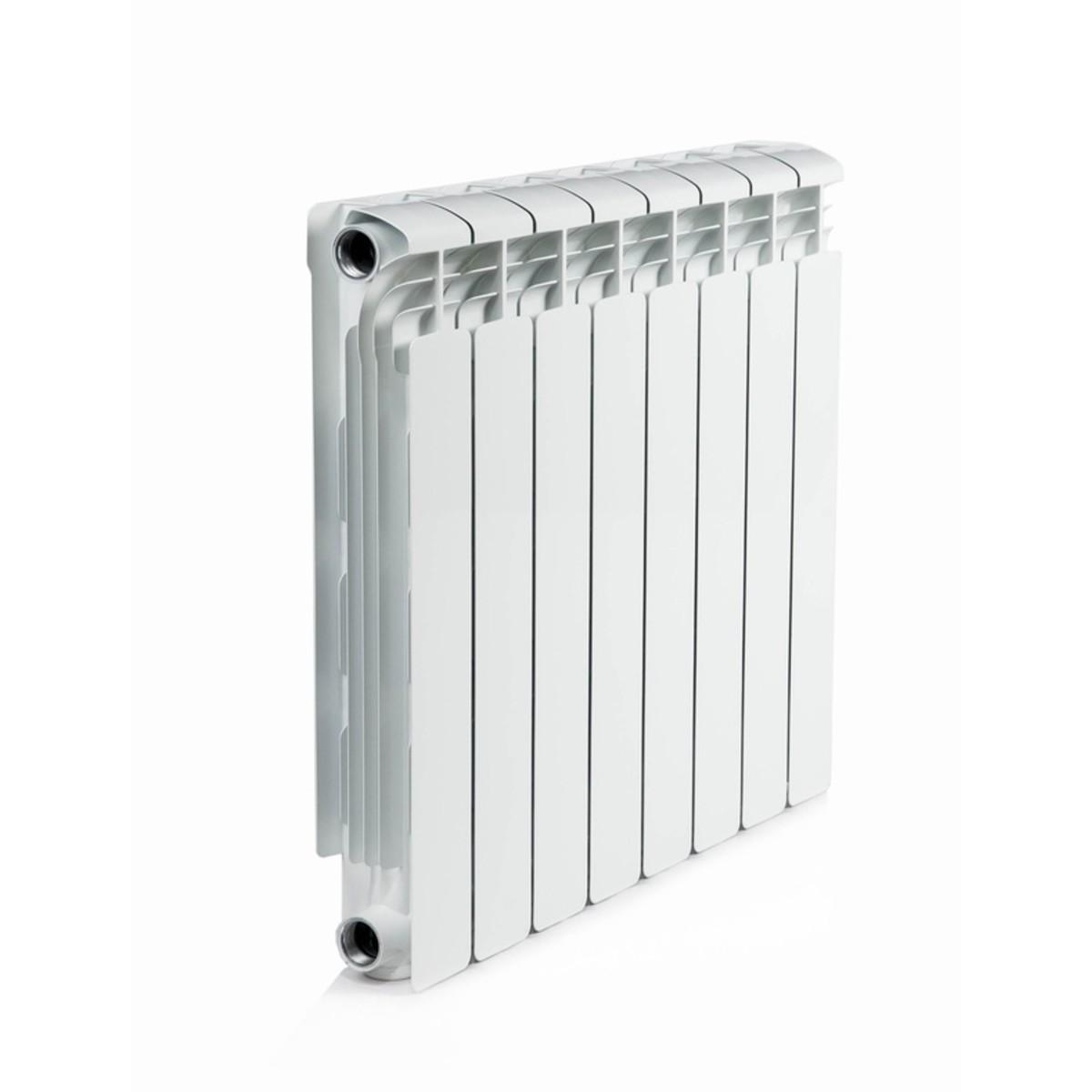 Радиатор алюминиевый Rifar Alum 500 8 секций цвет белый