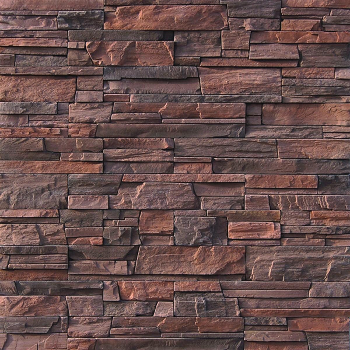 Плитка Декоративная Фьорд Лэнд темно-коричневый