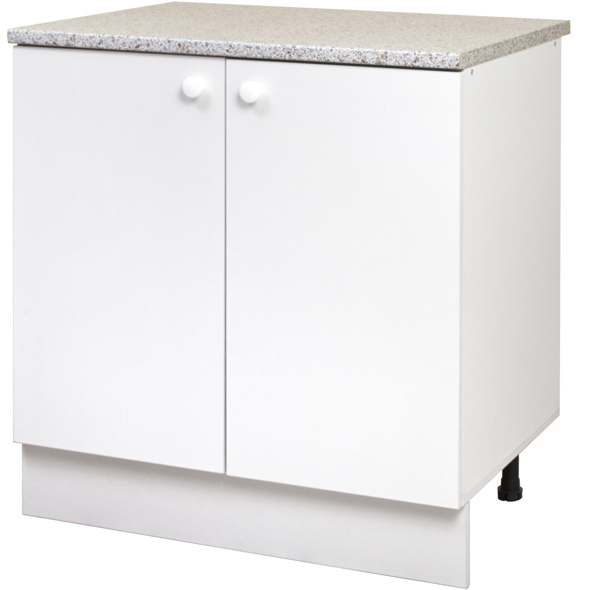 Шкаф напольный Бэлла 80x86x60 см ЛДСП цвет белый