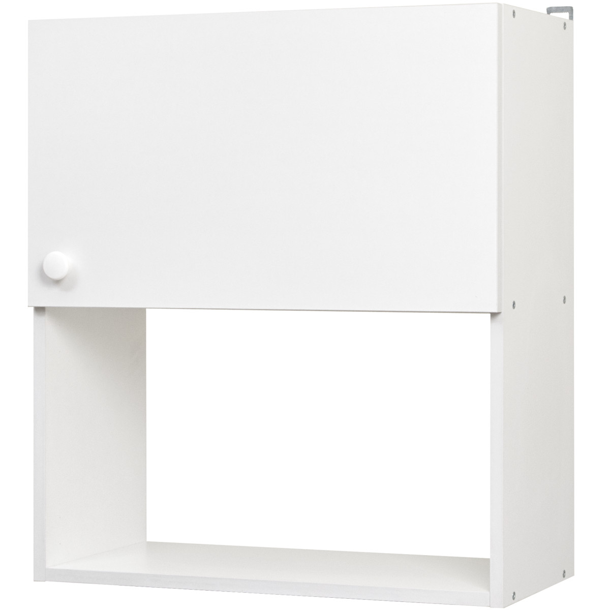 Шкаф навесной Бэлла 60x67.6x29 см ЛДСП цвет белый