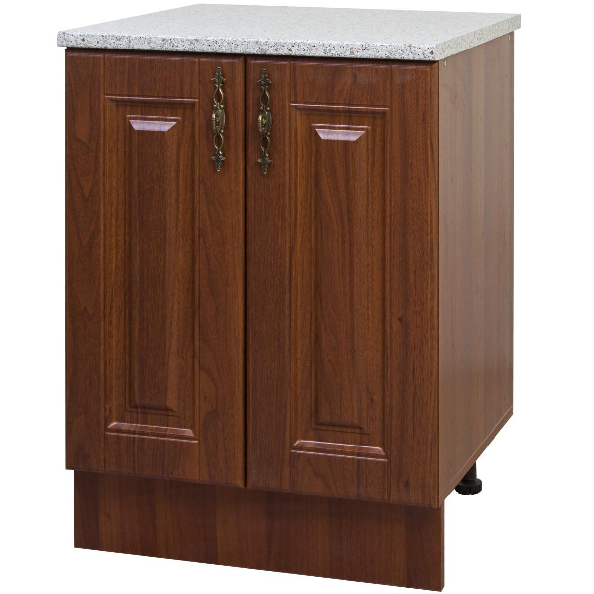 Шкаф напольный Орех Аква 60x86x60 см ЛДСП цвет коричневый