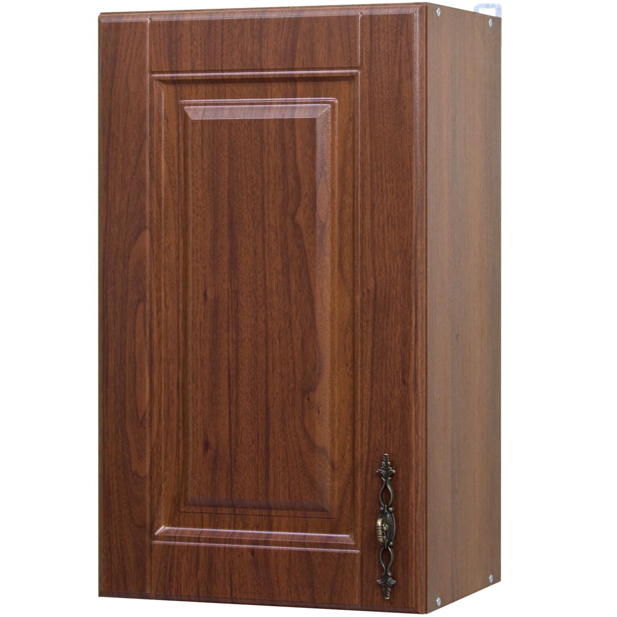 Шкаф навесной Орех Аква 40x68x29 см ЛДСП цвет коричневый