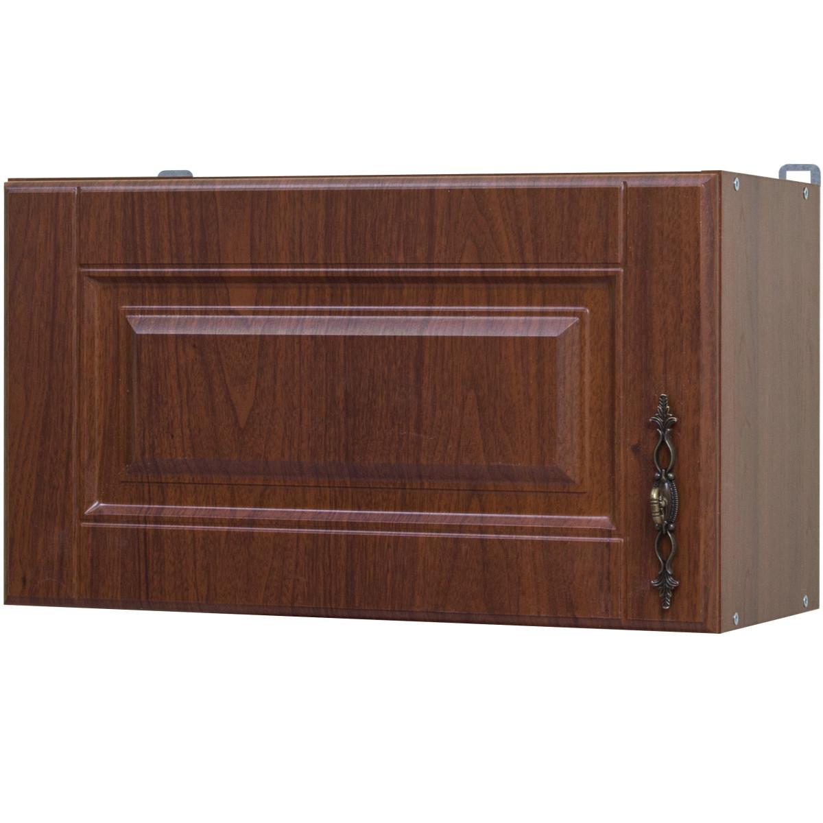 Шкаф над вытяжкой Орех Аква 60x35x29 см ЛДСП цвет коричневый