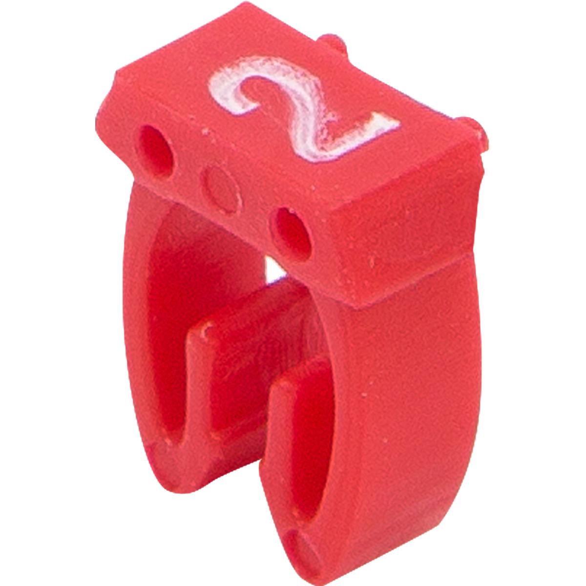 Бирка кабельная маркировочная Oxion 2.5 мм² 100 шт.