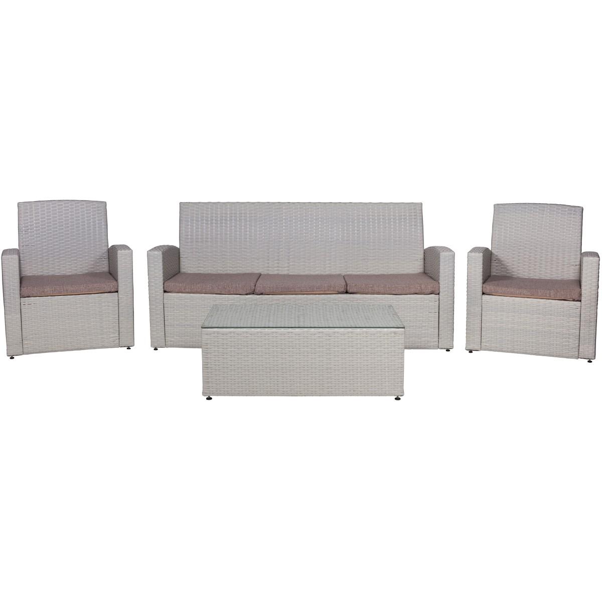 Набор мебели Тунис цвет бежевый