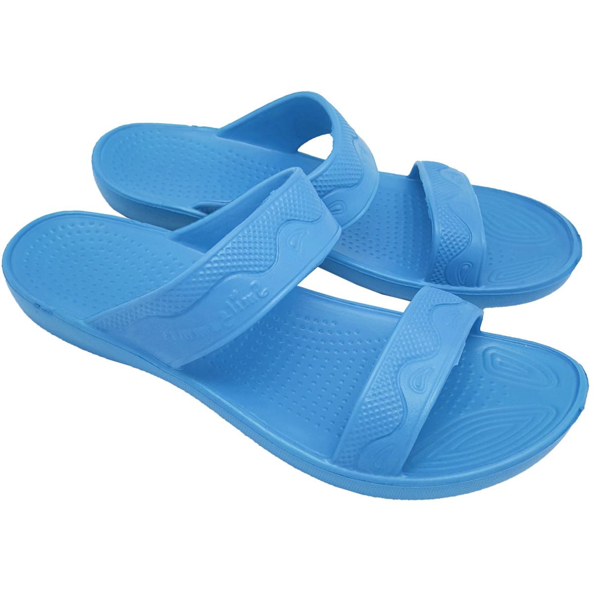 Сланцы пляжные женские размер 41 цвет синий