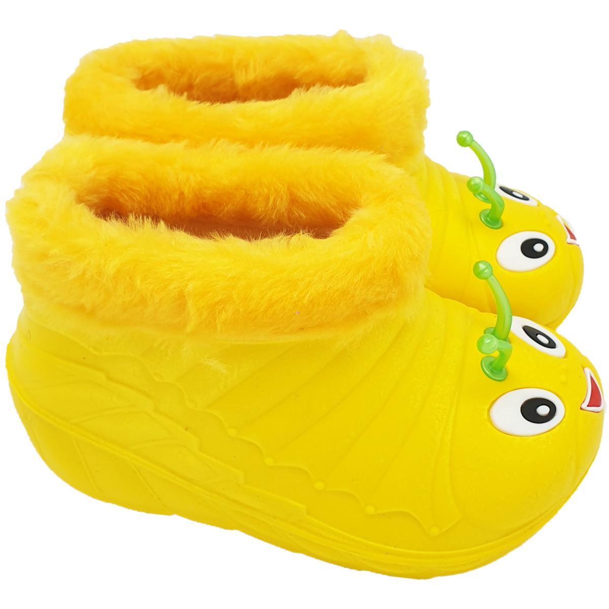Ботики детские У1-09 размер 25 цвет жёлтый