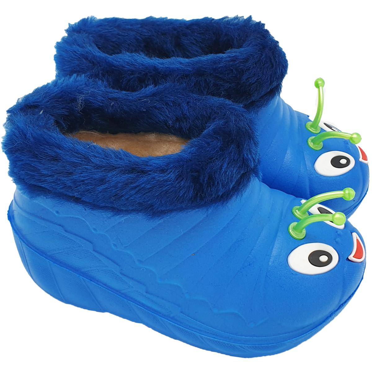 Ботики детские У1-03 размер 28 цвет синий