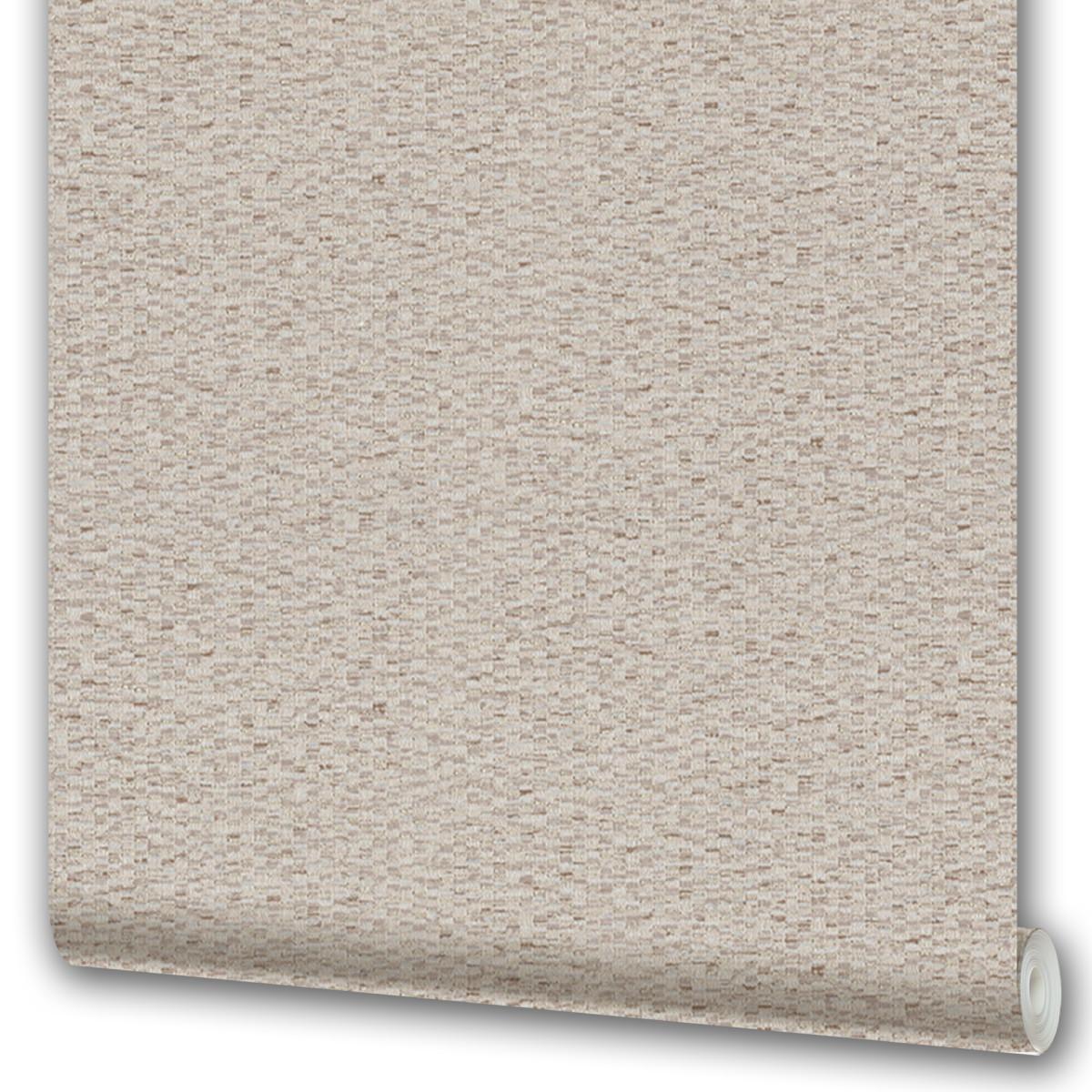 Обои флизелиновые Malex Desing Плетенка коричневые 1.06 м 4107-3