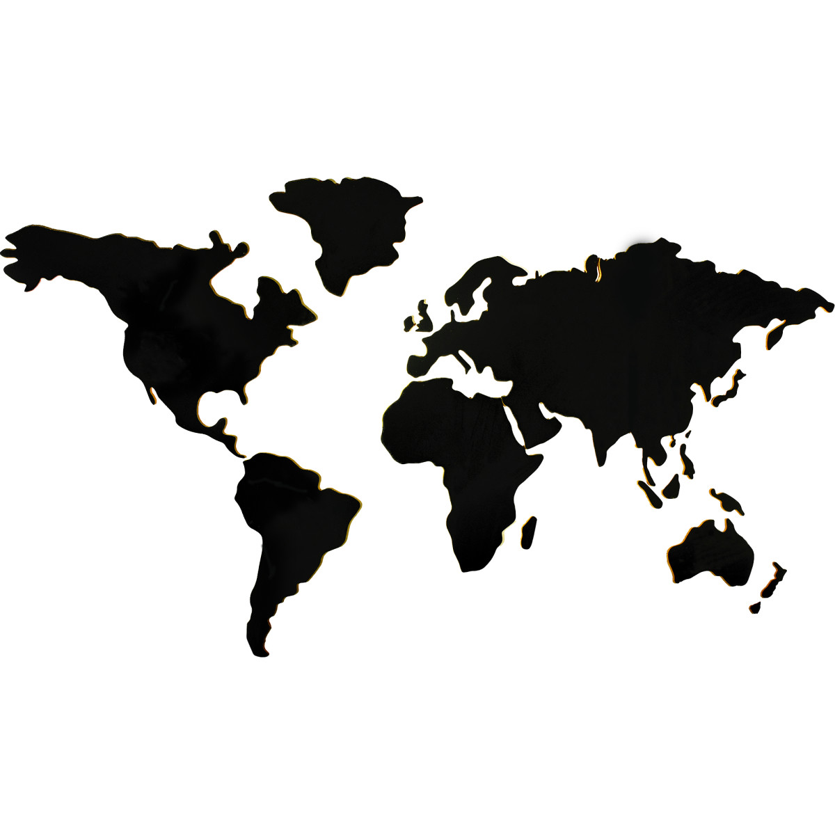 Доска пробковая «Карта мира» 150х80 см
