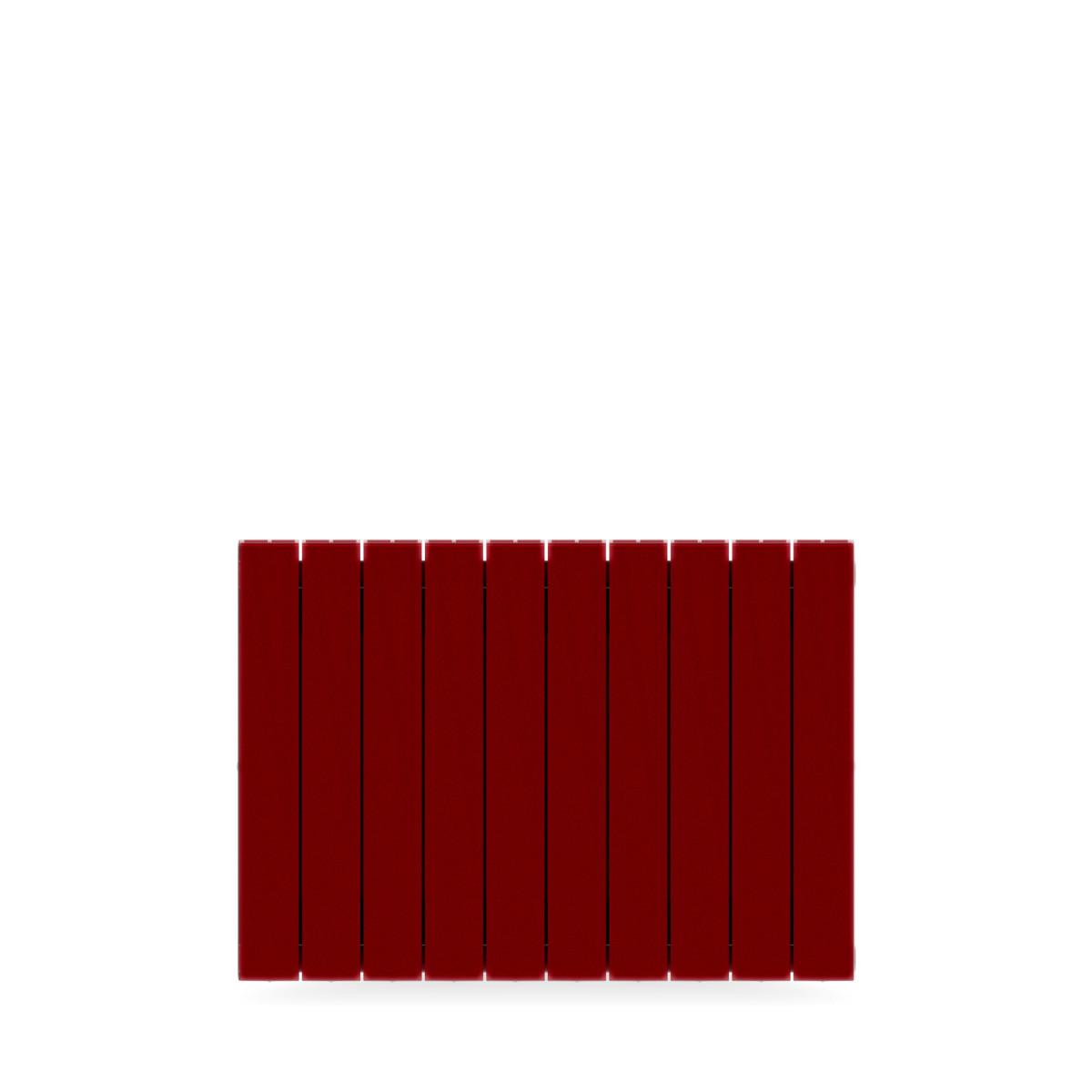 Радиатор Rifar Supremo 500 10 секций цвет бордо биметалл