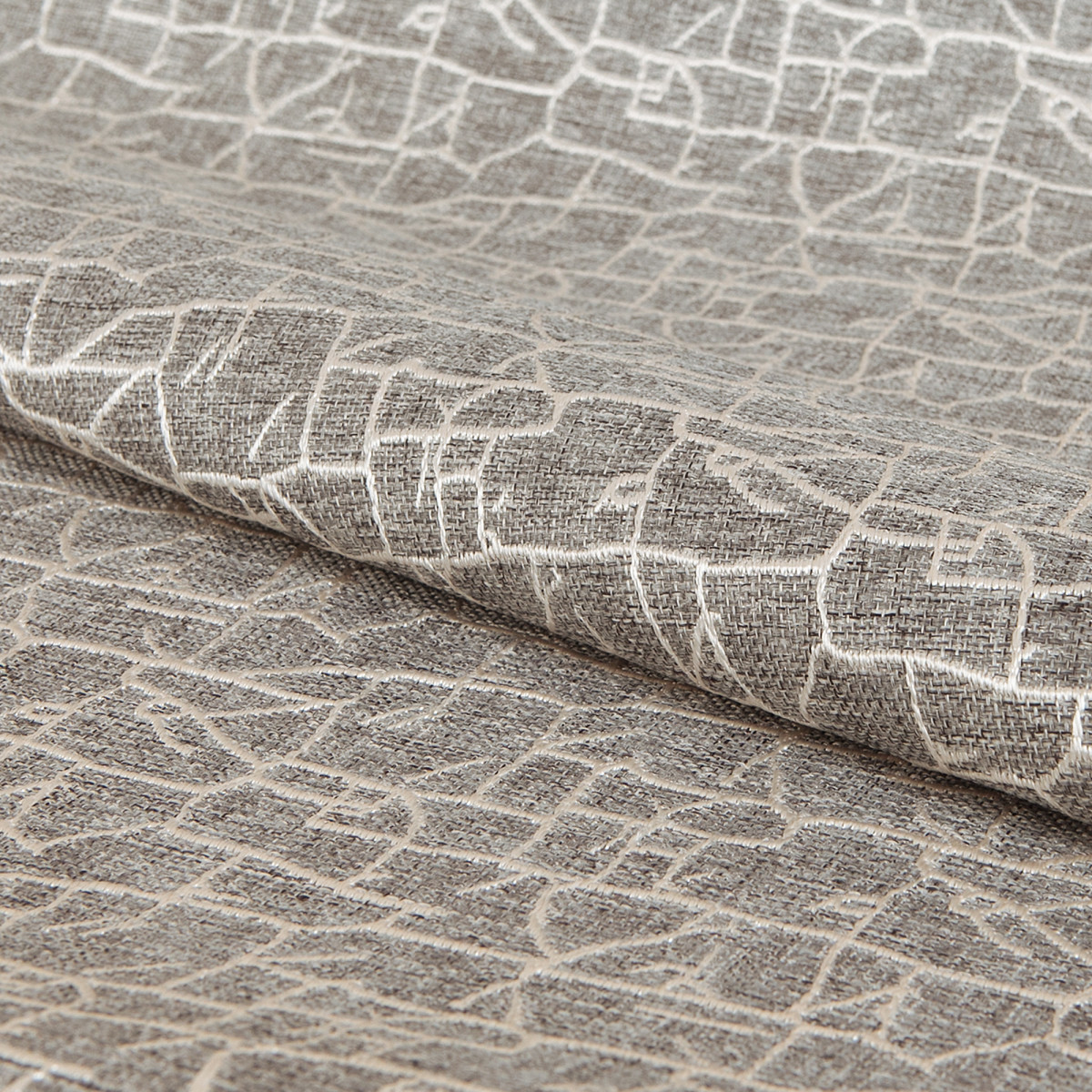 Ткань п/м Графские развалины 280 см цвет серый
