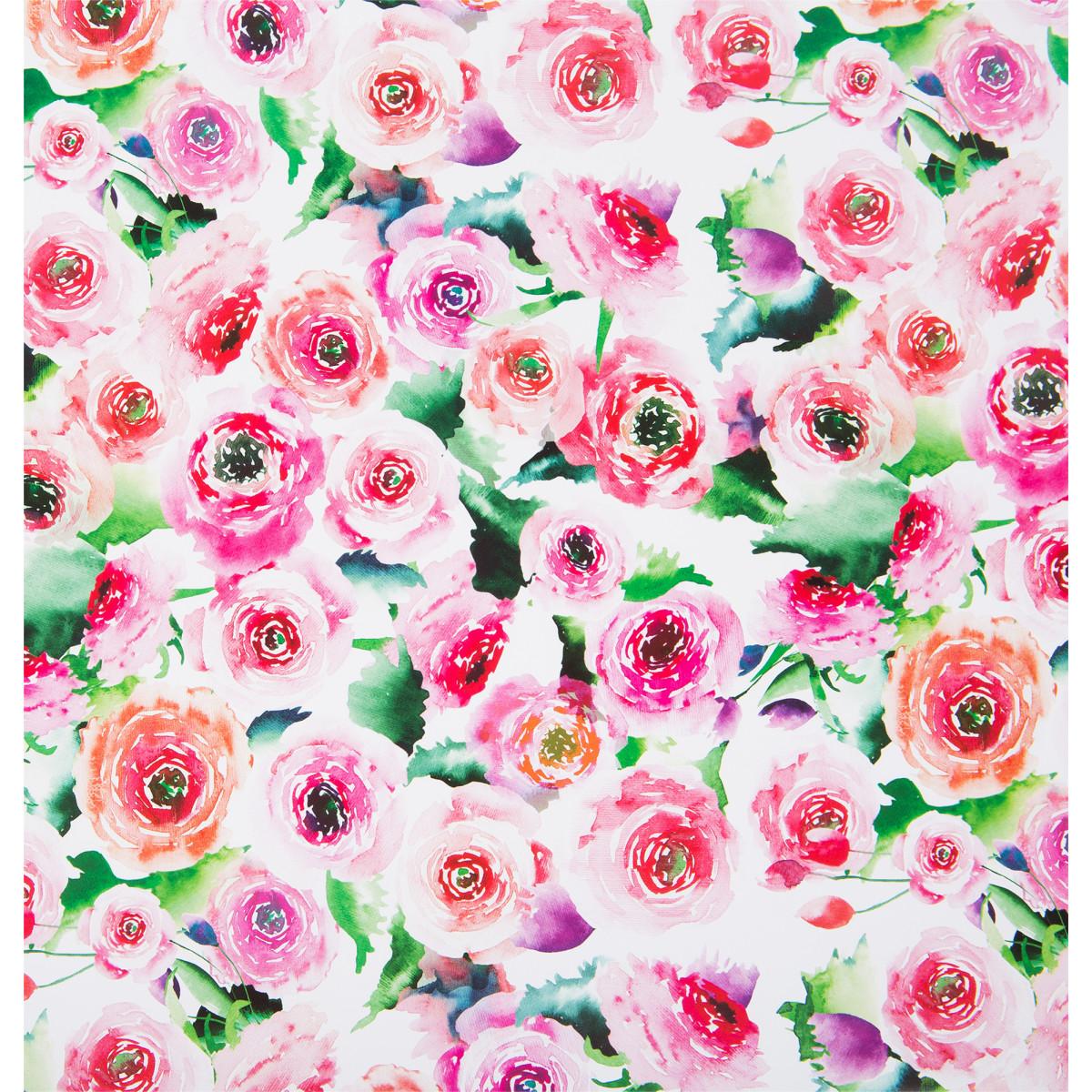 Бумага упаковочная «Весенние цветы» 100x70 см