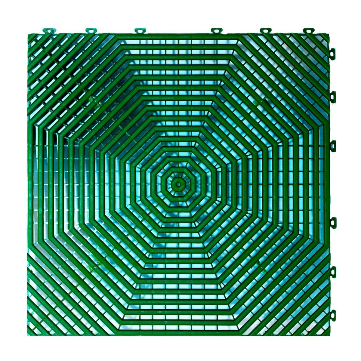 Плитка садовая Helex зеленая 6 шт