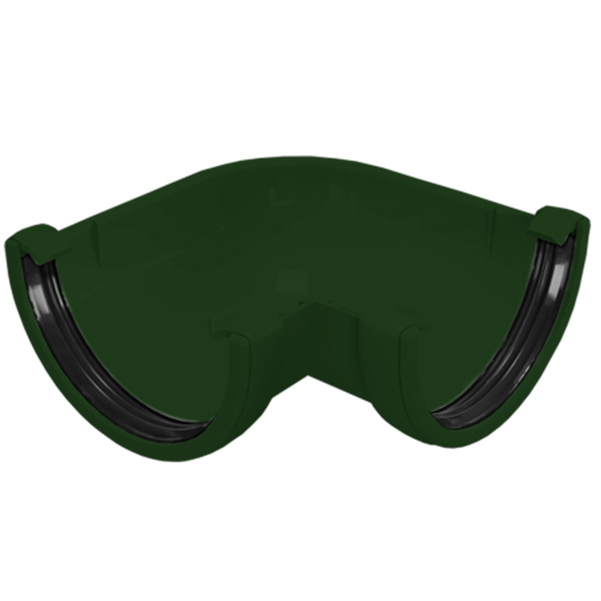 Угол желоба FINEBER 90° зеленый