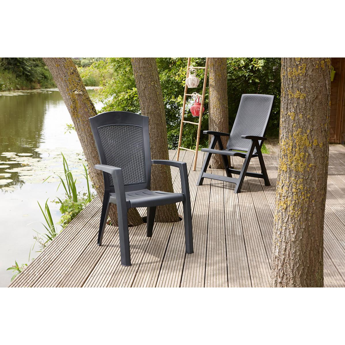 Кресло Садовое Keter Minnesota 65Х65Х99 Пластик Коричневый