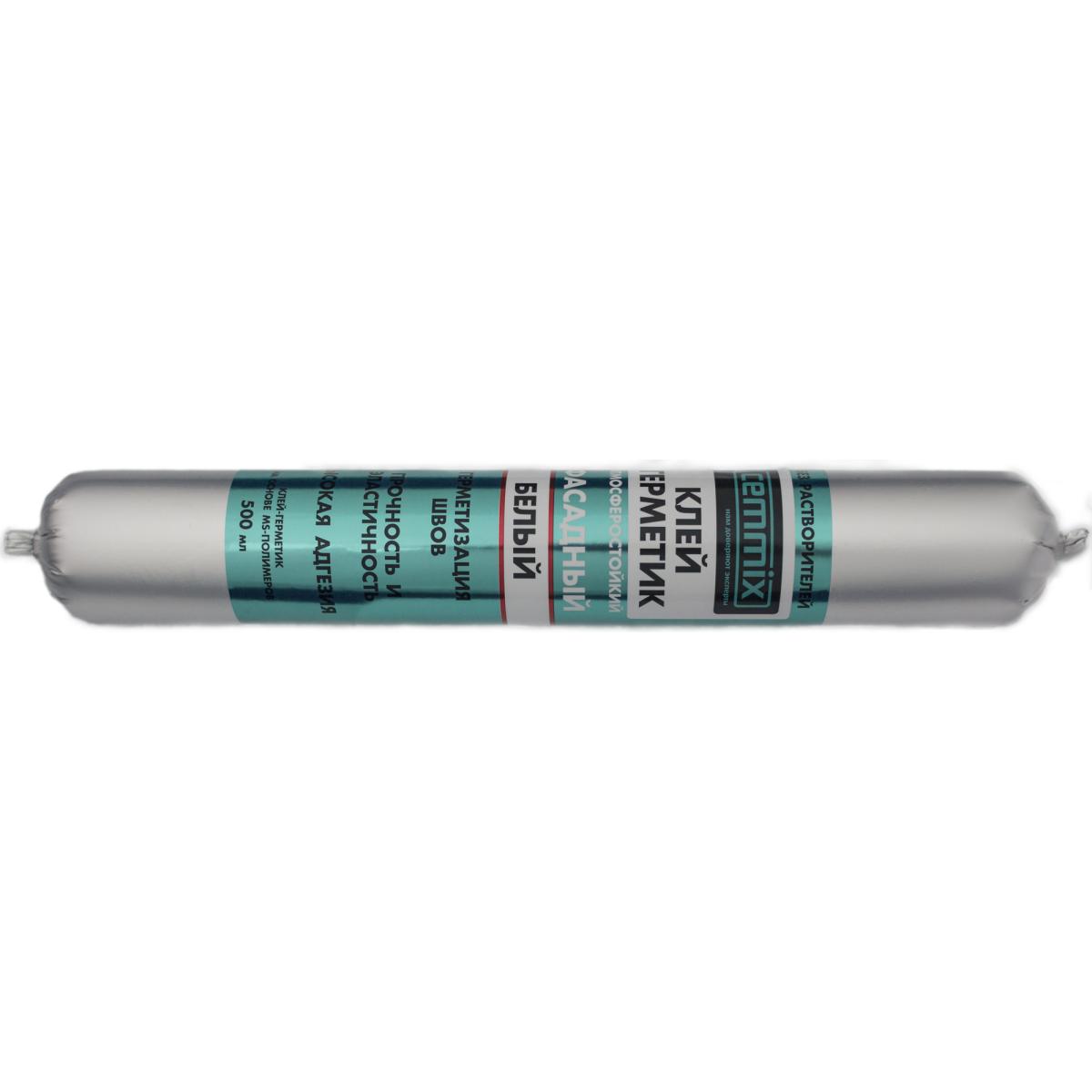 Клей-герметик фасадный Cemmix 500 мл белый