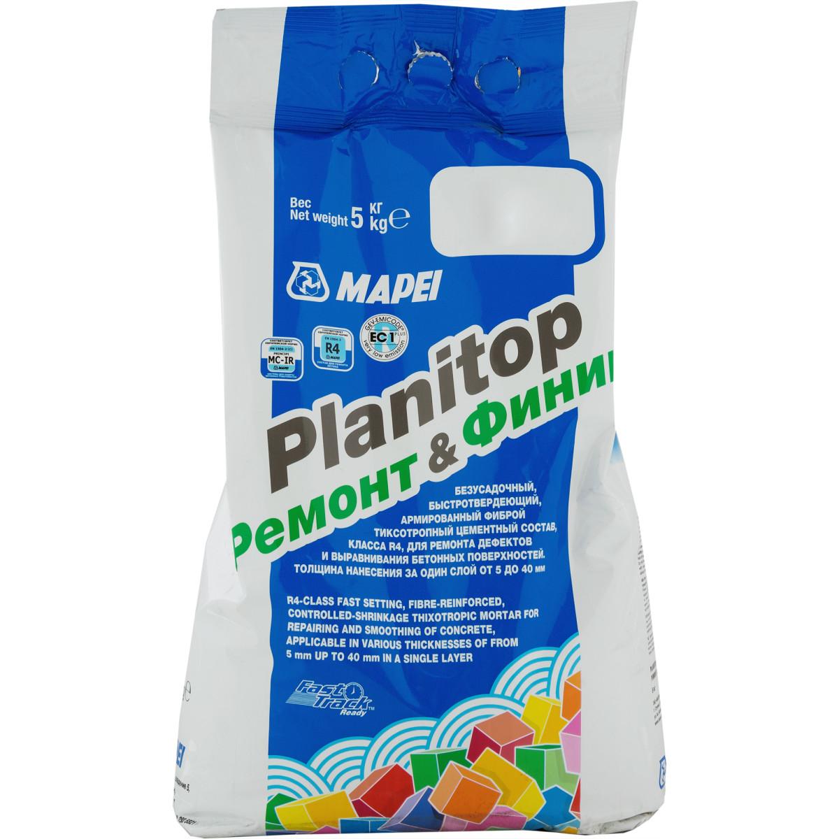 Ремонтный состав Mapei Planitop Ремонт/Финиш 5 кг