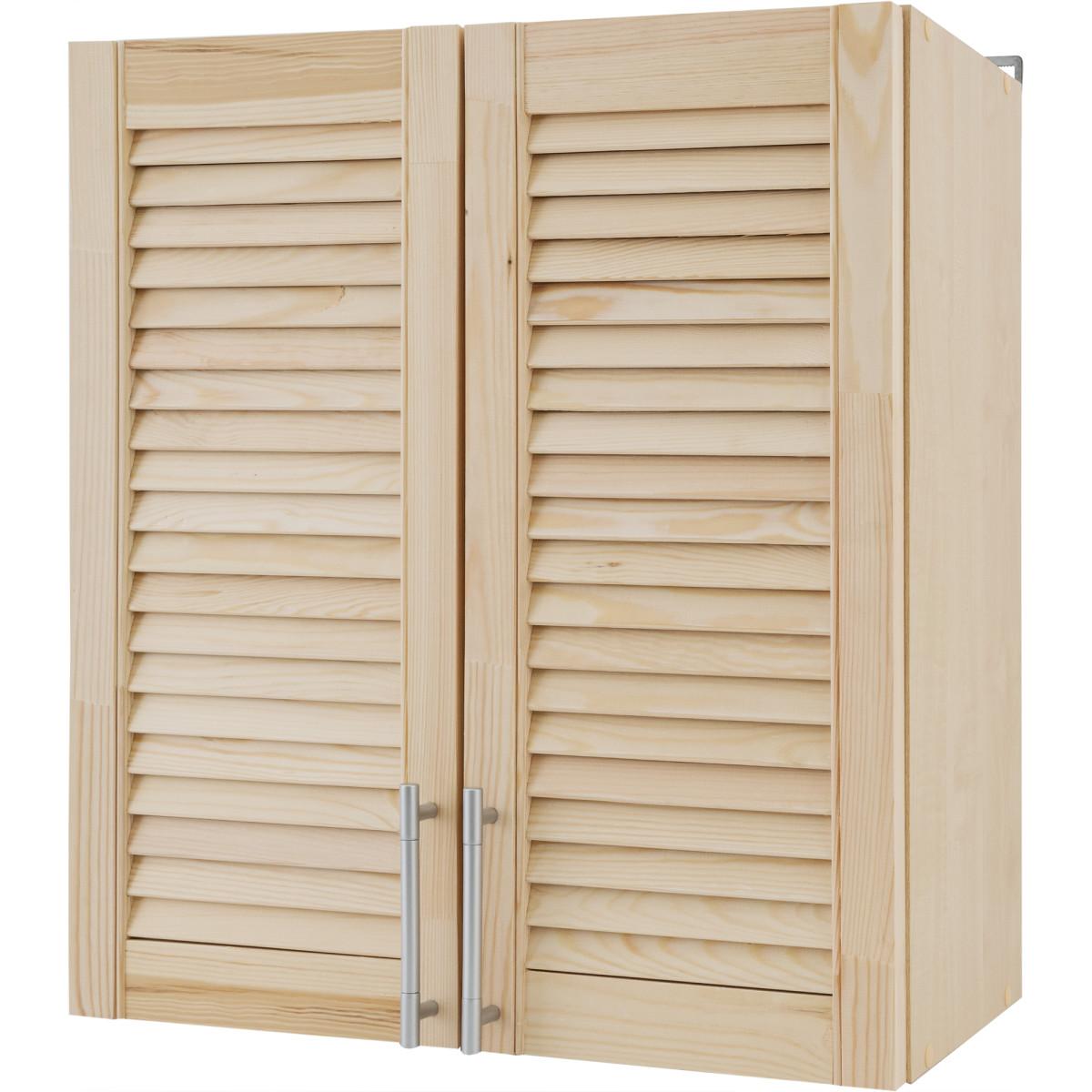Шкаф навесной Сосна массив 60x68x29 см ЛДСП