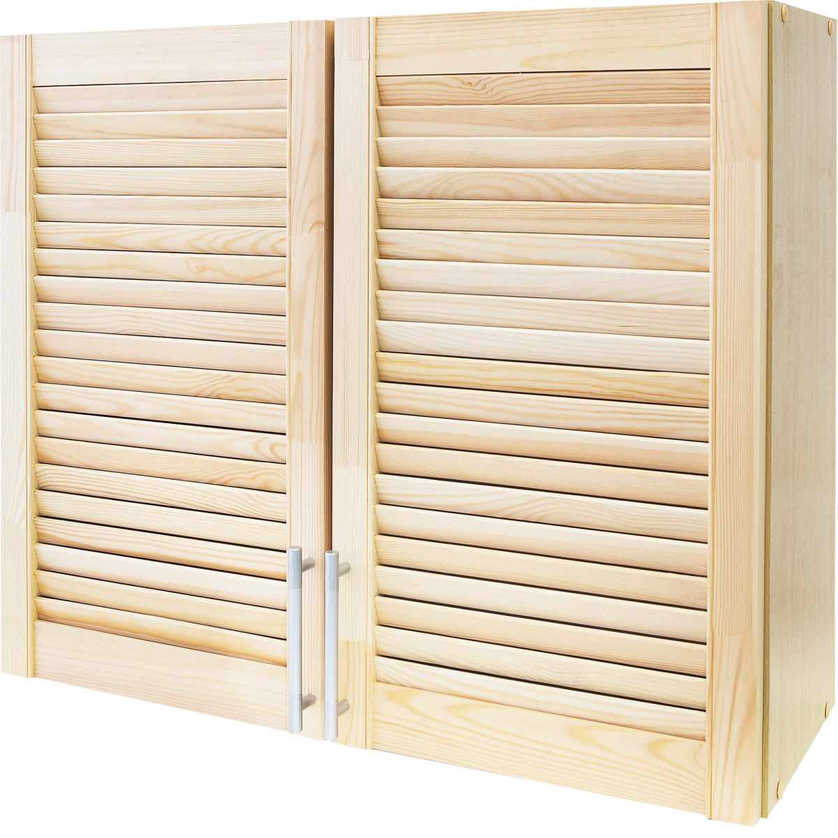 Шкаф навесной Сосна массив 80x68x29 см ЛДСП