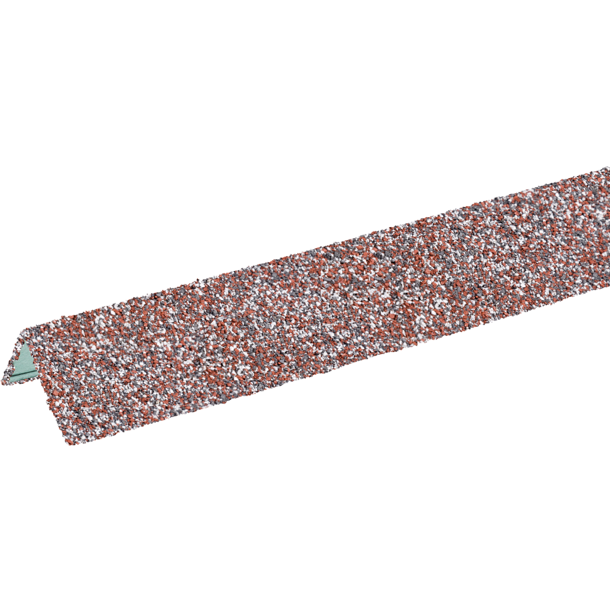Угол металлический внешний ТН Hauberk мрамор