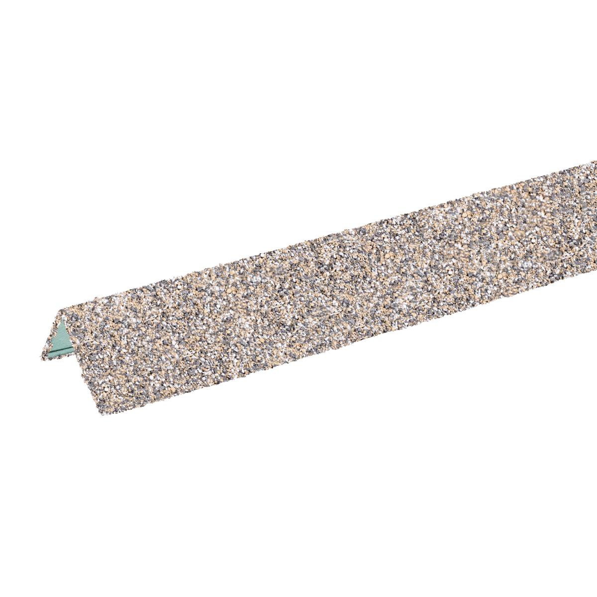 Угол металлический внешний ТН Hauberk серо-бежевый