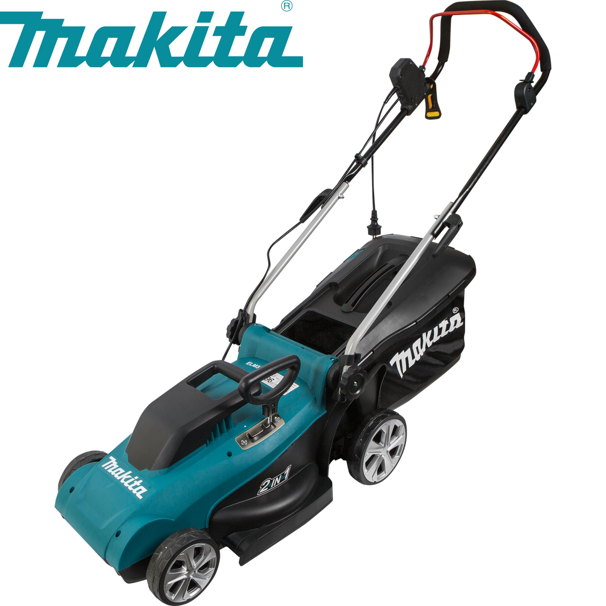 Газонокосилка электрическая Makita ELM3720 1400 Вт 37 см
