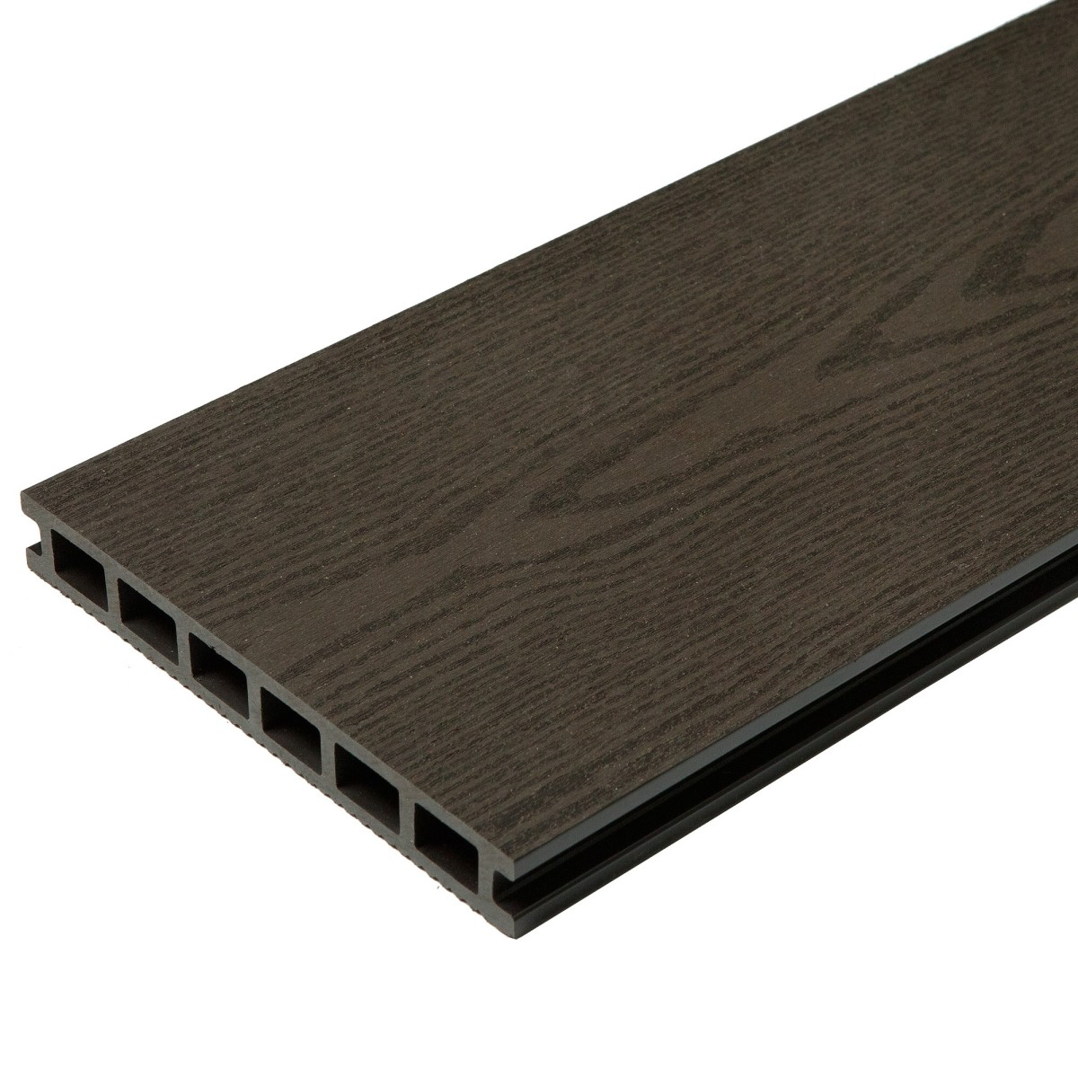 Террасная доска ДПК CM Decking Grand цвет Венге 3000х190х25 мм 0.57 м²