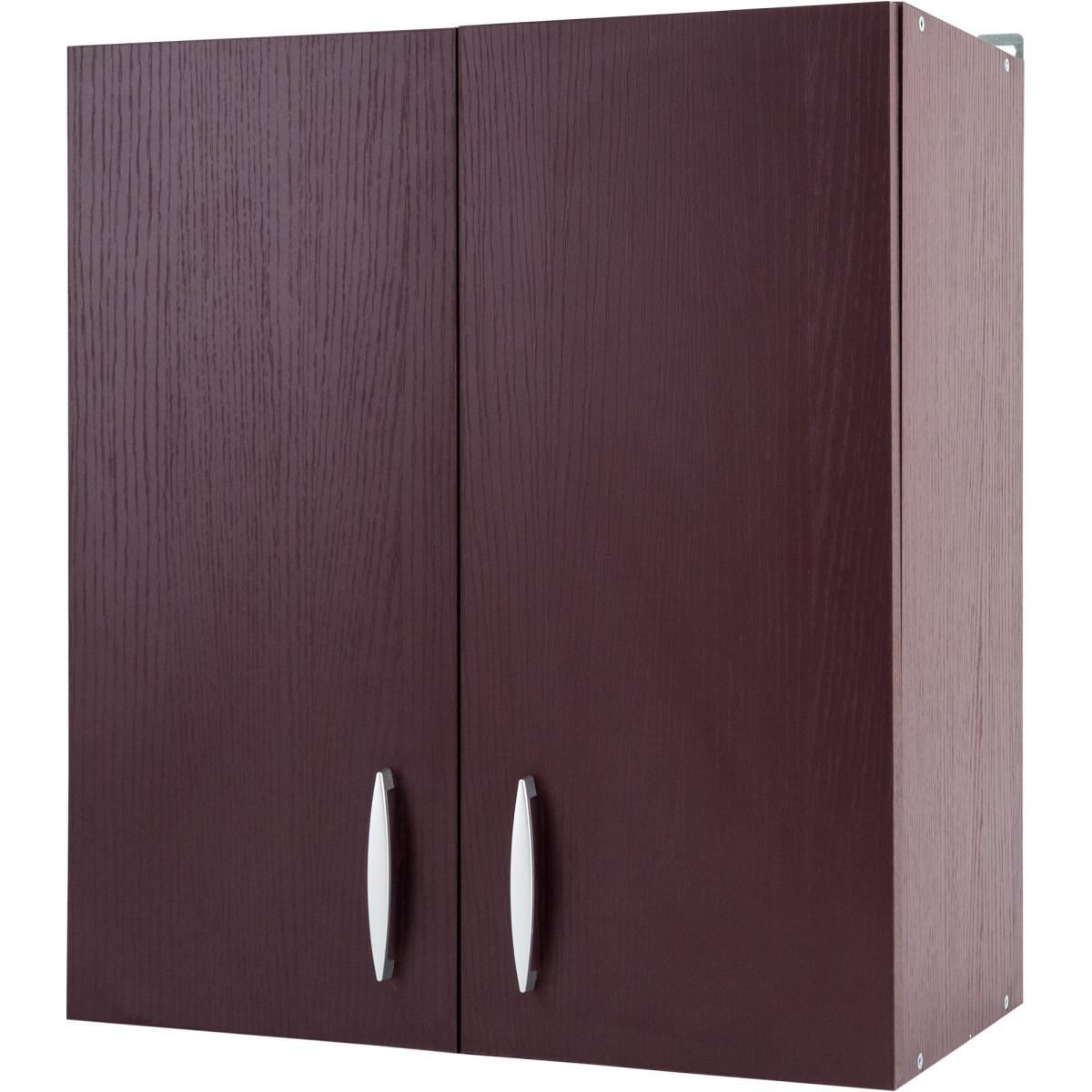 Шкаф навесной Бургун 60x67.6х29 см ЛДСП цвет бургун
