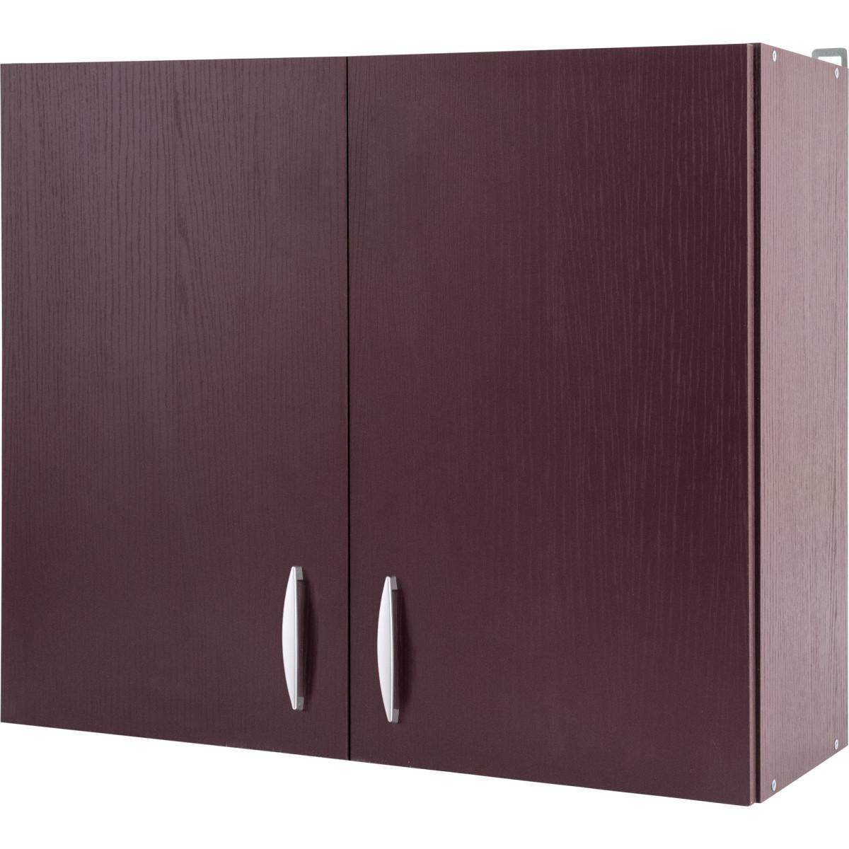Шкаф навесной Бургун 80x67.6х29 см ЛДСП цвет бургун