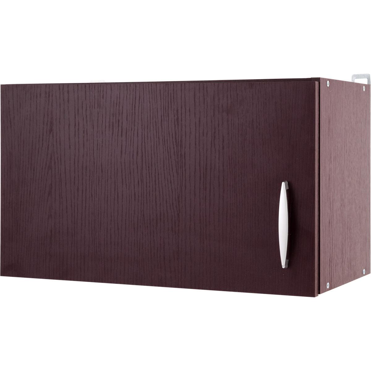 Шкаф навесной под вытяжку Бургун 60x35х29 см ЛДСП цвет бургун