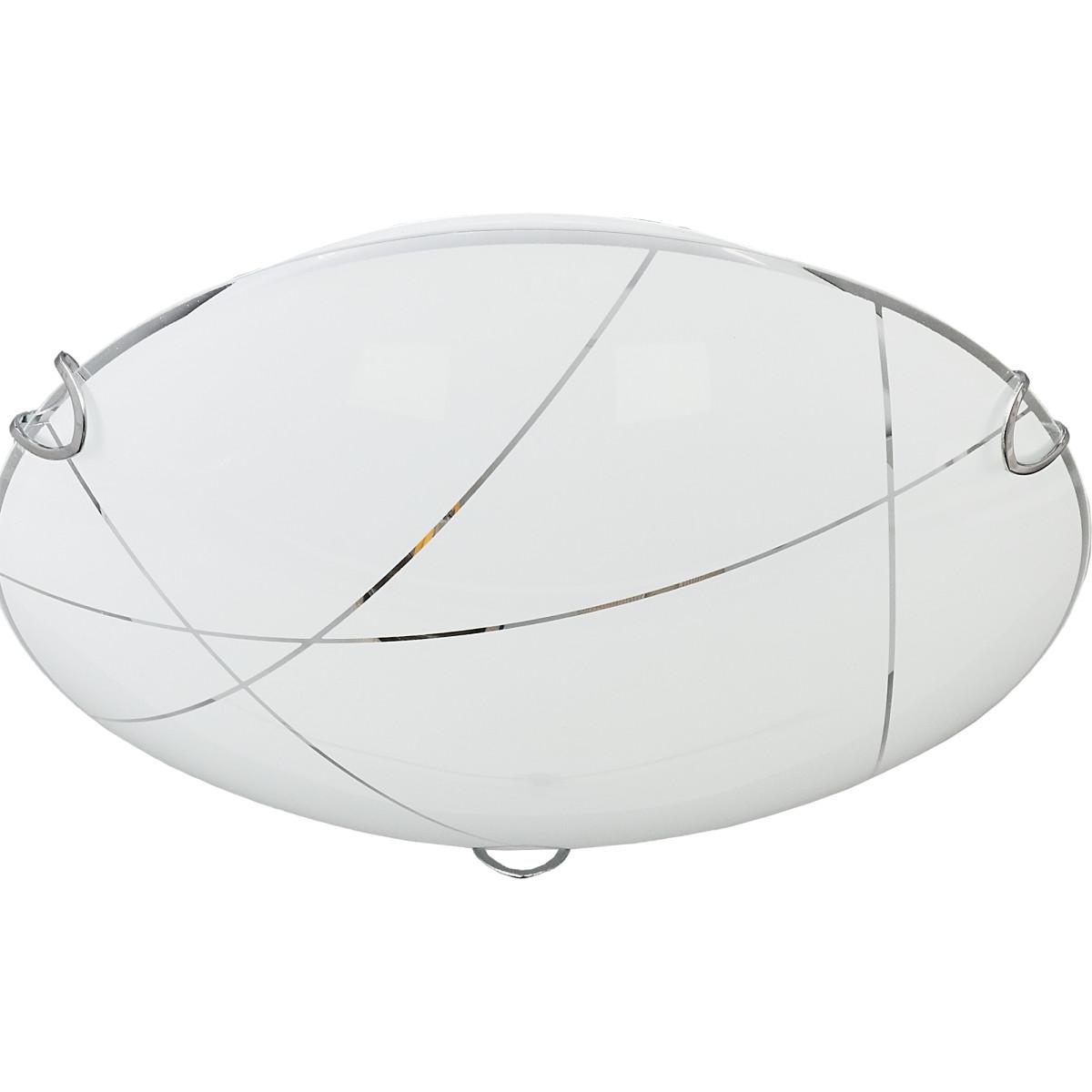 Настенно-потолочный светильник Контур КС30074/2С цвет белый