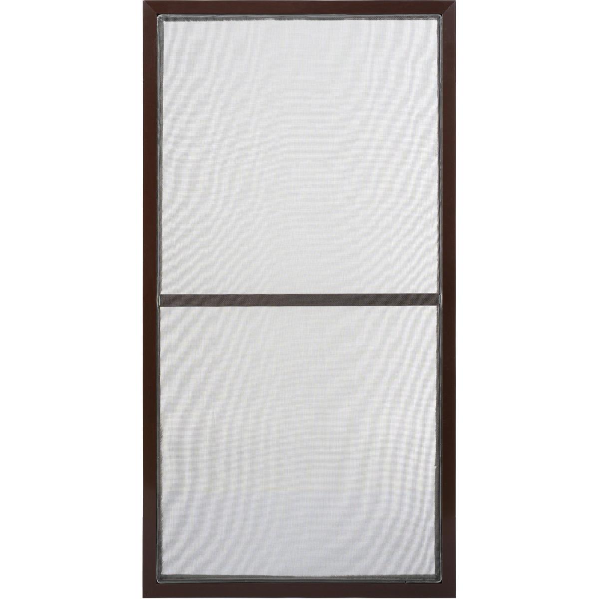 Москитная створка к окну 140х120 см коричневый