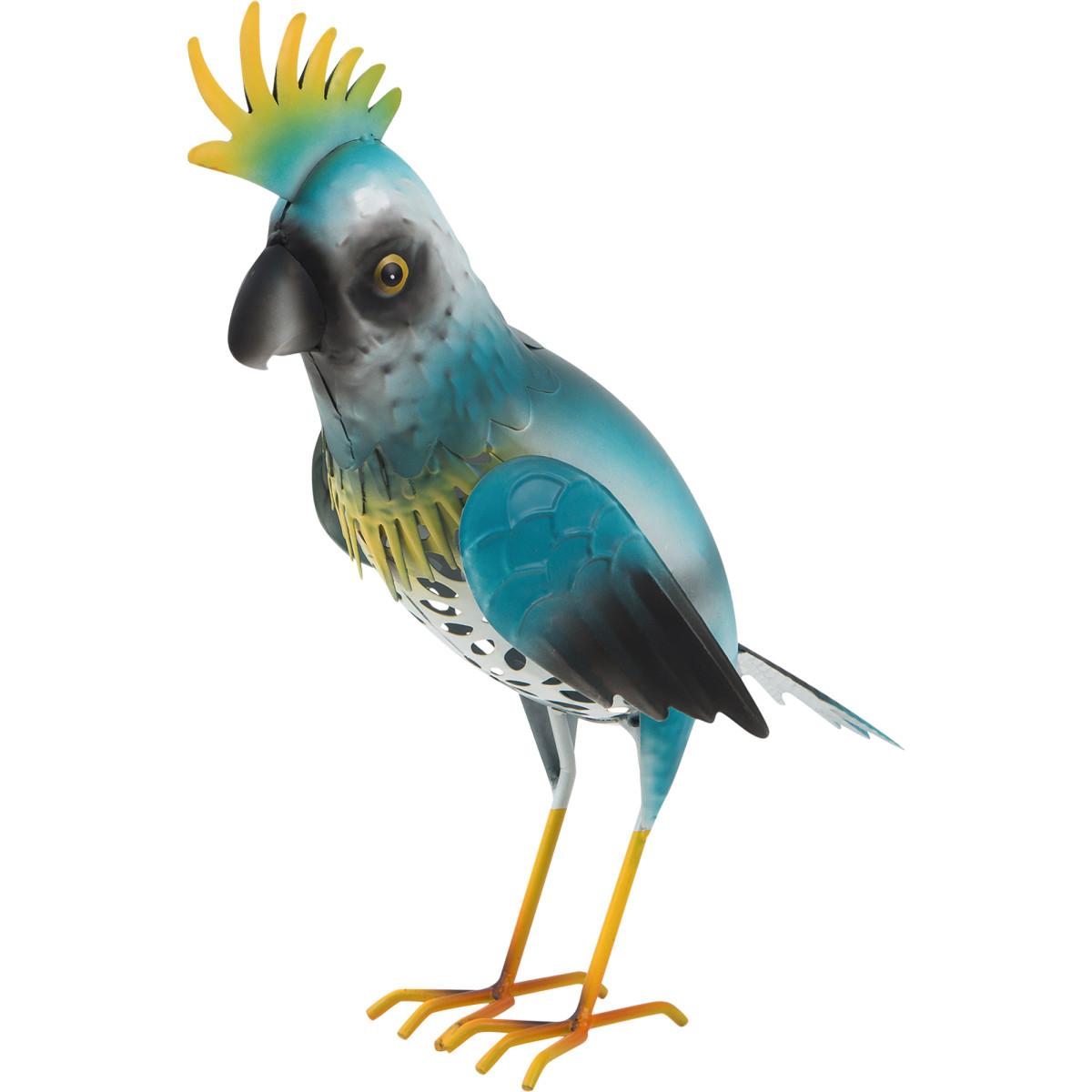 Фигура садовая «Попугай» высота 36 см