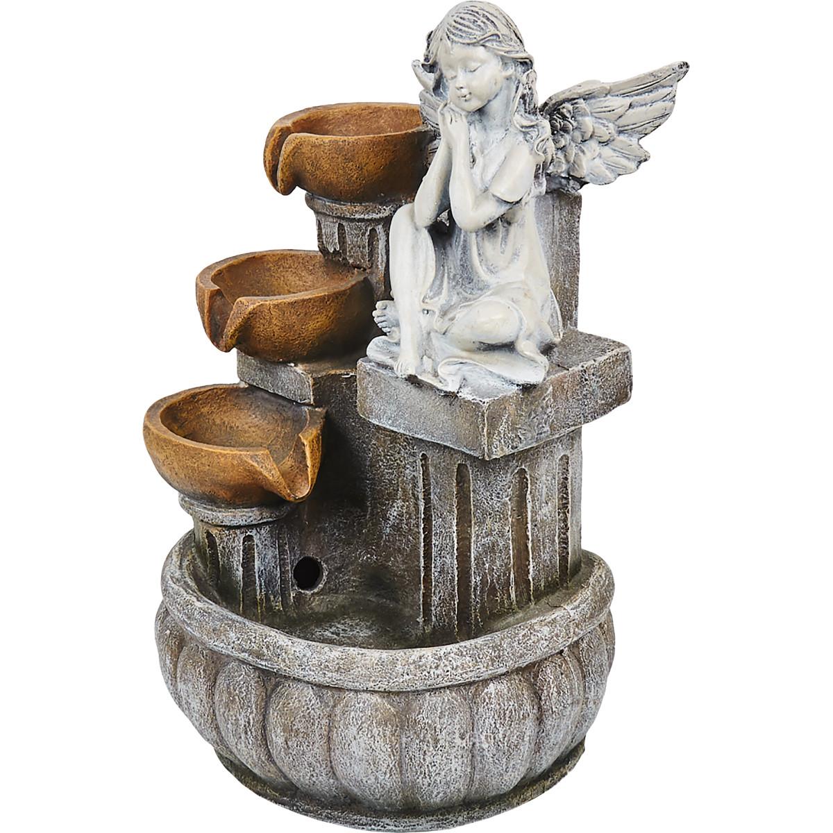 Фонтан садовый «Ангел » высота 41.5 см