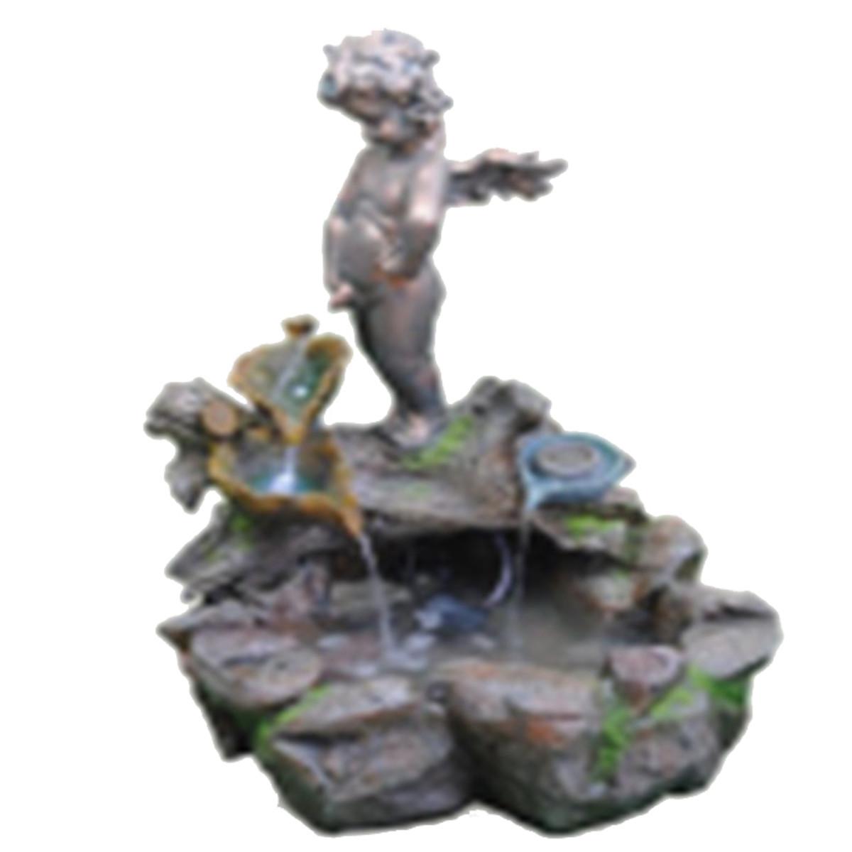 Фонтан садовый «Ангелочек» высота 62 см