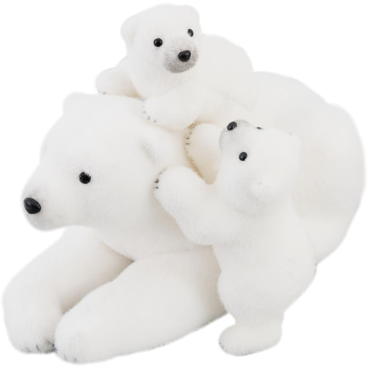 Мягкая Игрушка Медведица С Медвежатами 45