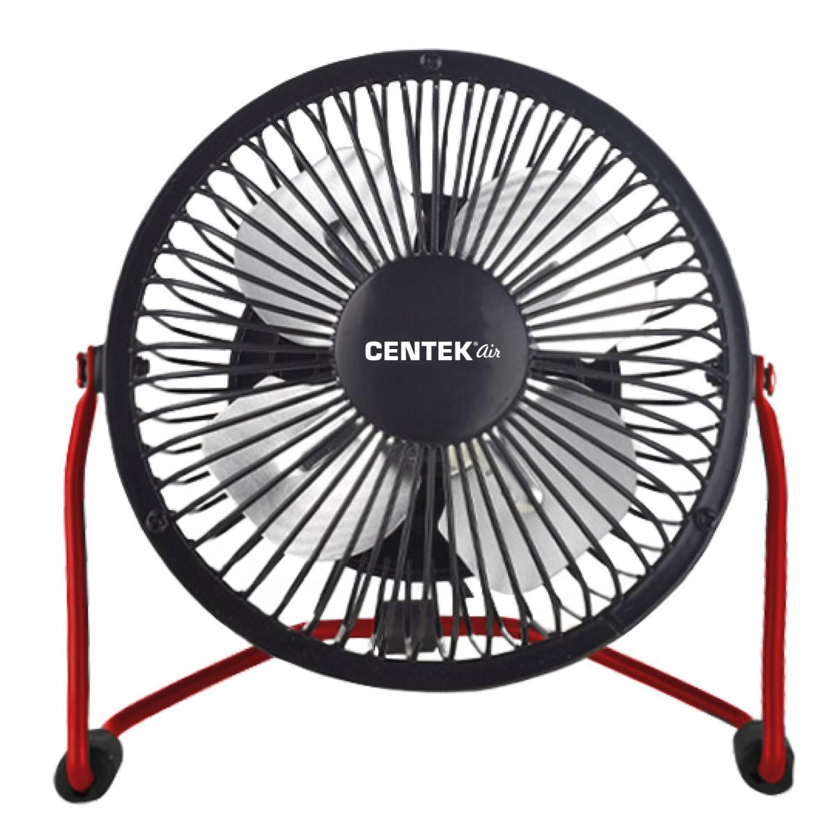 Вентилятор настольный Centek CT-5040 Red